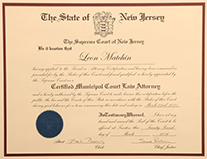 Certified Municipal Court Law Attorney