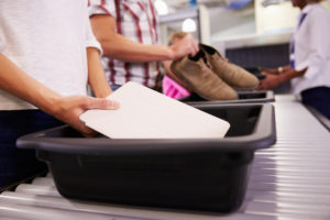 Before You Travel, Think About Security Checkpoints