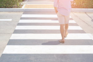 Must Stop for Pedestrians - A Cautionary Tale for Beach-Goers
